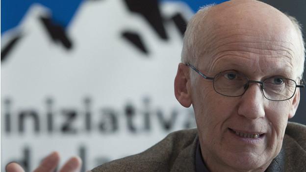 Alf Arnold, Geschäftsführer der Alpeninitiative
