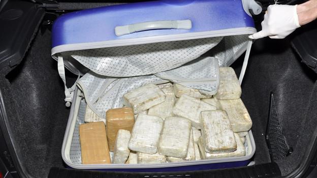 Bei den Ermittlungen wurden insgesamt 55 Kilogramm Heroin beschlagnahmt
