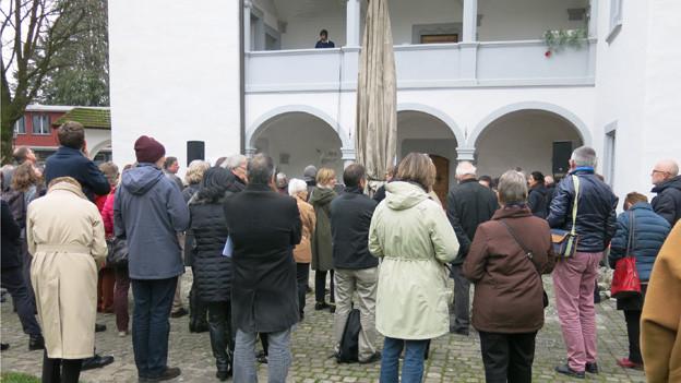 Das Literaturhaus in Stans wird feierlich eröffnet.