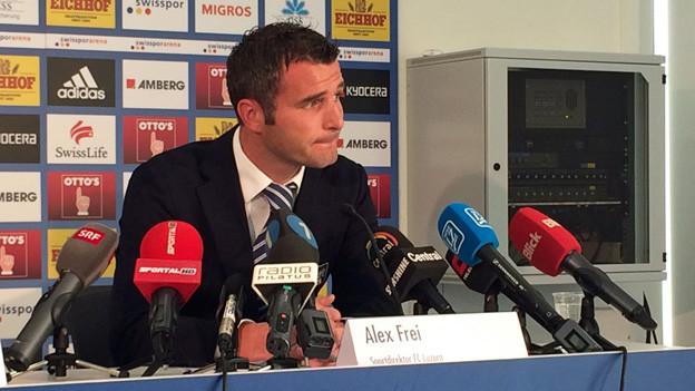 Alex Frei verlässt den FC Luzern.