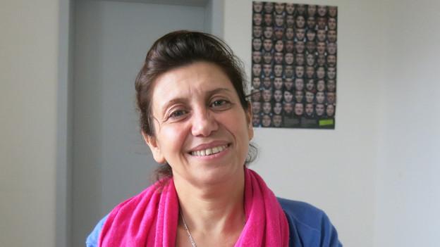 Amal Naser ist aus Syrien in die Schweiz geflüchtet.