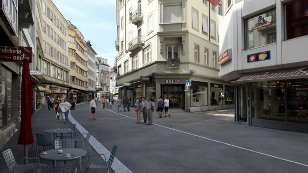Der Grendel in der Luzerner Altstadt soll neu gestaltet werden.