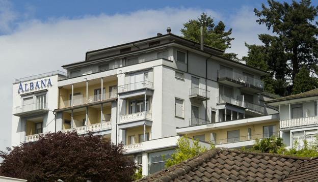 Das Hotel Albana in Weggis.
