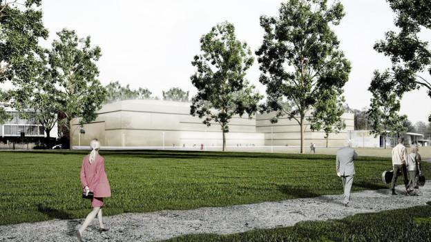 in Lightbox öffnen. Bildlegende: Die Vision eines multifunktionalen Musikhauses scheint Realität zu werden.