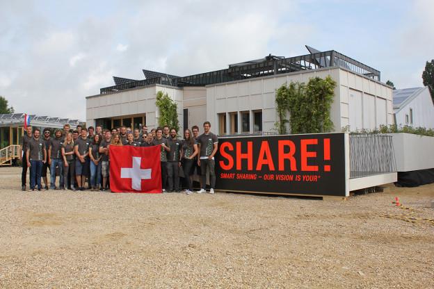 Studenten der Hochschule Luzern in Versailles.