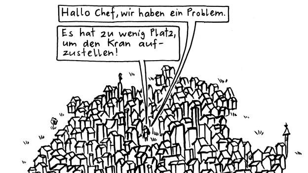 Cartoonist Jonas Brühwiler im Sonntags-Gespräch.