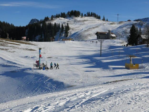 Skigebiet Klewenalp hätte gerne mehr Schnee und Gäste.