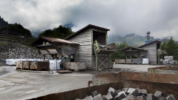 Steinbruch Guber in Alpnach