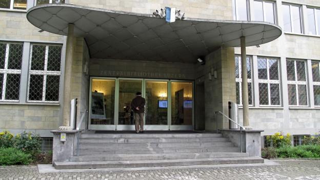 Die Luzerner Hochschulbibliothek wird saniert.