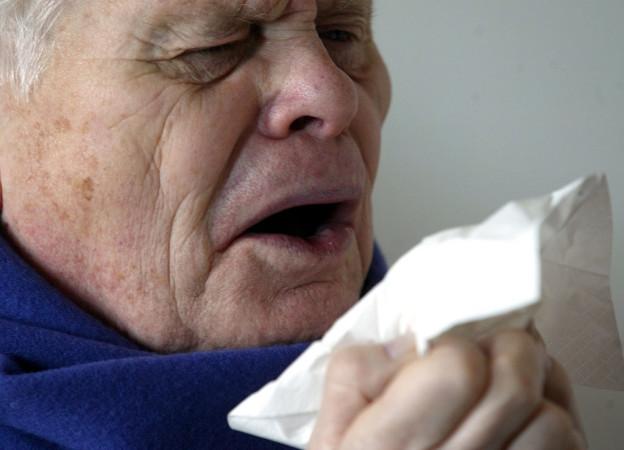 Die Grippe grassiert.