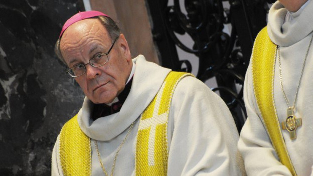 Bischof Vitus Huonder verlangt Demission des Pfarrers von Bürglen.