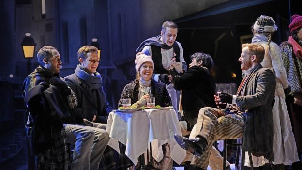 Premiere von «La Bohème» im Luzerner Theater.