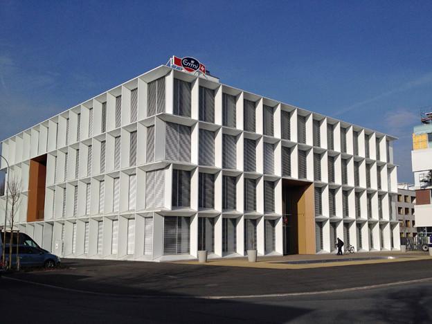 Neuer Hauptsitz der Emmi in Luzern.