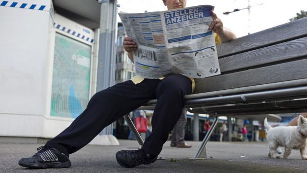 Im März sind weniger Menschen in der Zentralschweiz auf Arbeitssuche