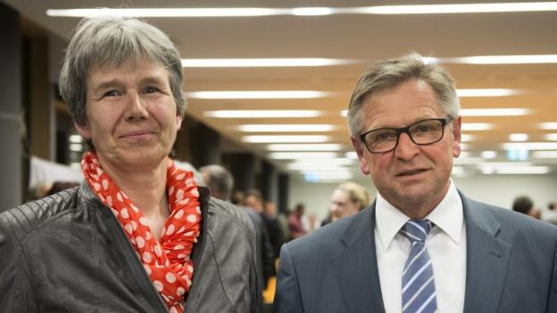 Frieda Steffen und Isidor Baumann treten für die Urner CVP bei den Herbstwahlen an.