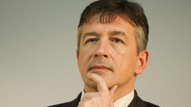 Der Nidwaldner Regierungsrat Hans Wicki