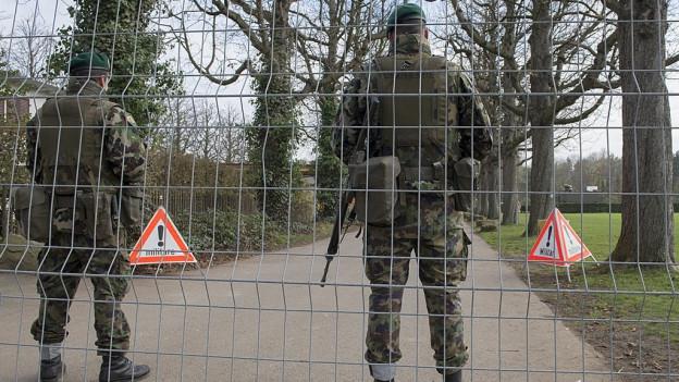 Die Armee will Bewachung und Überwachung wichtiger Orte trainieren.