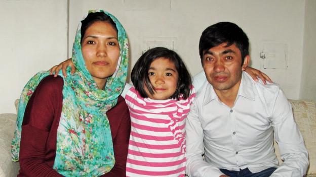 Weniger Unterstützung: Die Familie Jafari in Sursee.