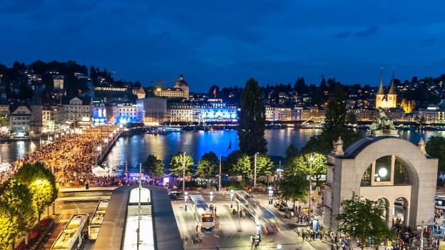 Das Luzerner Fest lockt jeweils rund 70'000 Besucher an.