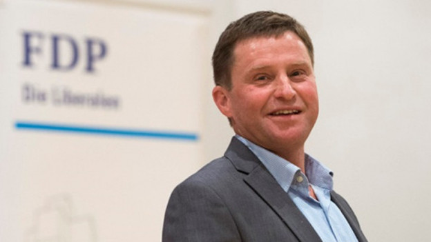 Der Obwaldner FDP-Ständeratskandidat André Windlin.