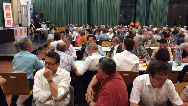 An der CVP-Delegiertenversammlung gaben die Regierungsratswahlen viel zu diskutieren.