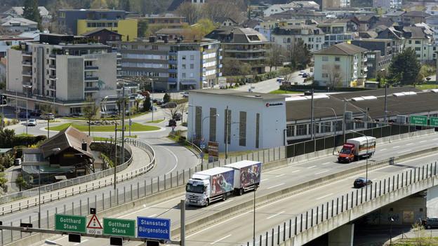 Die Nidwaldner Bevölkerung soll weiter wachsen, zum Beispiel in Stansstad.