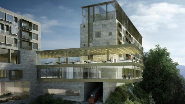 Nidwalden setzt fest auf das geplante Bürgenstock-Resort