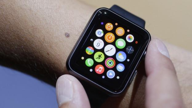 Eine Smartwatch von Apple