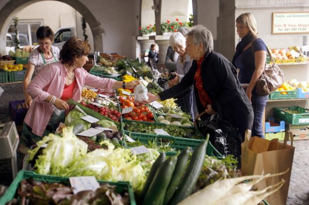 Beim Luzerner Wochenmarkt ändert vorerst nichts.