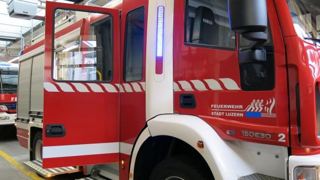 In Luzern soll künftig eine Berufsfeuerwehr in den Einsatz gehen