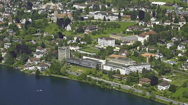 Areal des ehemaligen Kantonsspitals in Zug.