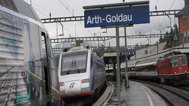 Beim Bahnhof Arth-Goldau soll sich Arth weiter entwickeln.