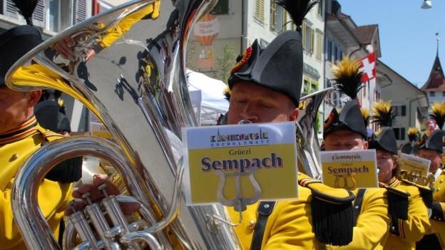 Über 5000 Aktive waren am Luzerner Musikfest dabei.