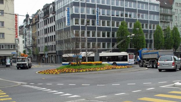 Der Bundesplatz in Luzern.