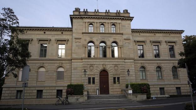 Regierungsgebaeude im Kanton Zug.