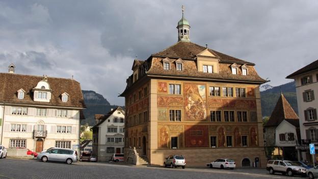 Das Schwyzer Rathaus.
