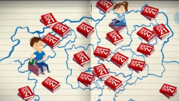 Der Lehrplan 21 soll für die ganze Schweiz einheitlich sein.
