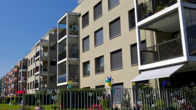 Auch in Nidwalden ist günstiger Wohnraum gefragt.