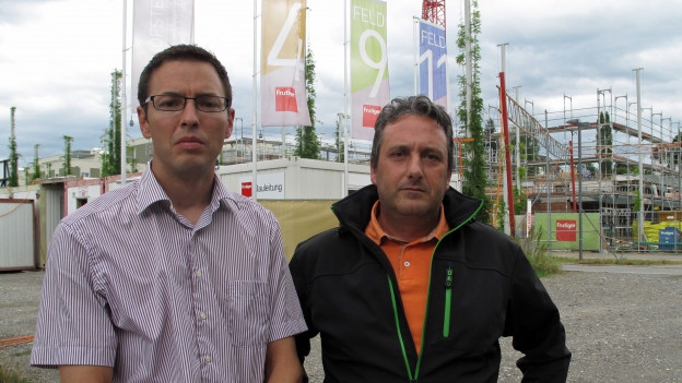 Matthias Gautschi und Giuseppe Reo