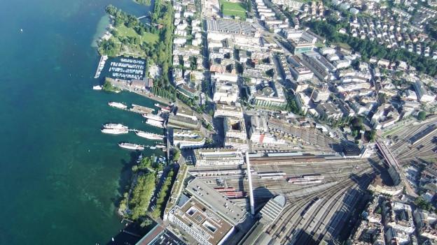 Profitieren sollen vor allem Gebiete am linken Seeufer.