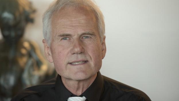 Max Plüss, Direktor von Spitzenleichtathletik Luzern.