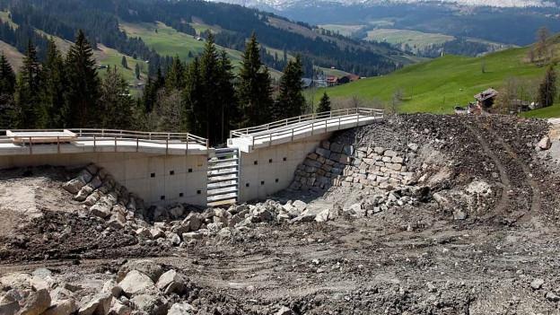 Wasserbauprojekt im Sörenberg