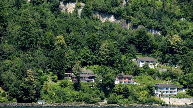 Im gefährdeten Gebiet standen bis im letzten Jahr fünf Häuser.