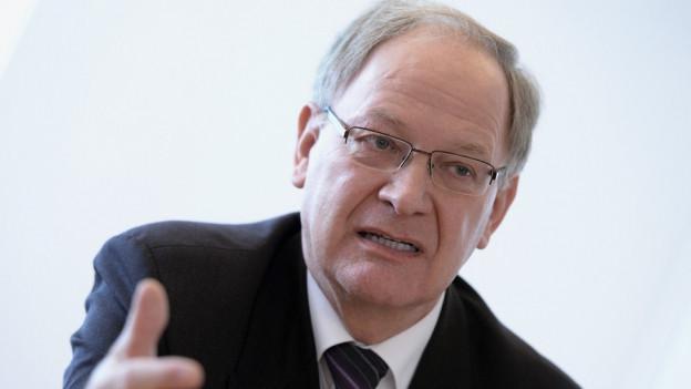 Obwaldner Finanzdirektor Hans Wallimann will Erbschaftssteuer abschaffen.