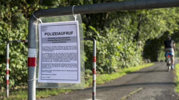 Die Polizei bittet nach wie vor nach Hinweisen.