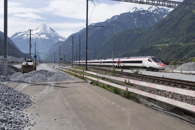 Die Strecke zwischen Erstfeld und Brunnen wird kurzzeitig gesperrt.