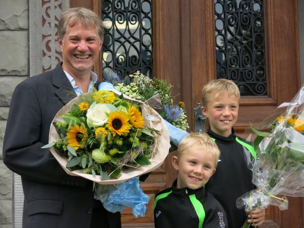 Der 53-jährige Cyrill Wiget ist der erste Grüne Gemeindepräsident im Kanton Luzern.