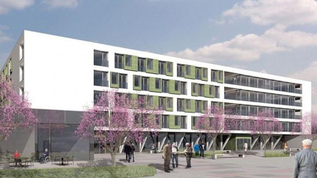 Das Betagtenzentrum Emmenfeld öffnet sich den Besuchern.