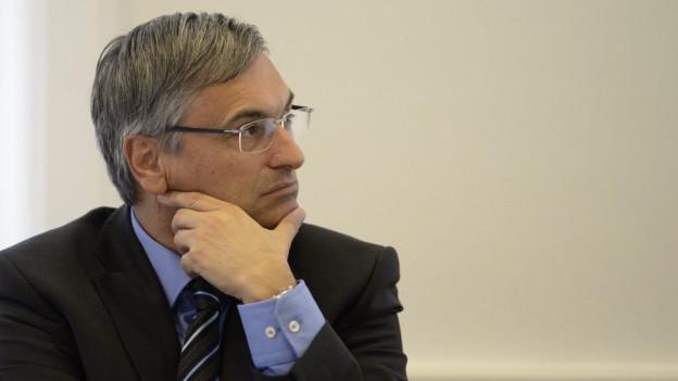 Wieder ein Brief nach Bern: Sozialdirektor Guido Graf.