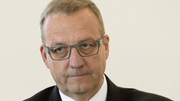 Der Nidwaldner Finanzdirektor Alfred Bossard.